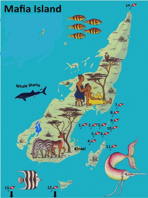 Sketch Map – Mafia Island